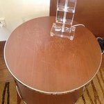 condition of lamp table in room