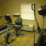 small fitness center...