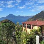 vista sul lago Atitlan
