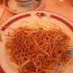 Noodles, pasta di riso al curry