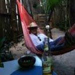Relaxing at My Tulum Cabanas