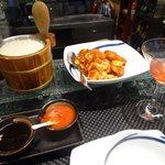 Kung Po Prawns dinner