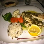 YellowTail Snapper at Martin's Restaurant next door