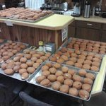 """Paczki Day... just like """"Homer Price and The Donuts"""" movie"""