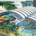 Skyline Inn is connected via indoor walkway to the Fallsview Indoor Waterpark