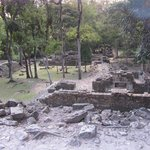 il bel sito Copan Ruinas