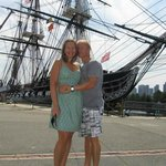 <3 at the U.S.S. Constitution