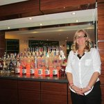 Arly - the amazing hotel clerk and bartender!