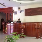 At the front desk of Sovannphum