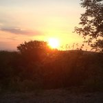 Sunset over Marloth Park