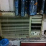 Aircon unit. luckily didn't work