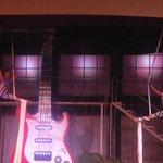 un espectaculo de rock en el teatro