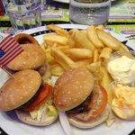 trio burger 3 saveur