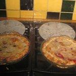 Blueberry & Cherry Pies!!! Yum!