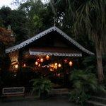 Jardin Cacao at dusk