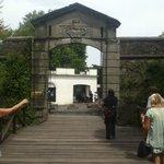 Puente a la entrada del castillo Colonia de sacramento Urugu