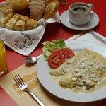 desayuno de crepas