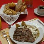 desayuno carne asada