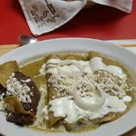desayuno de enchiladas