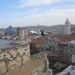 vista dal terrazzo, Santo Sepolcro