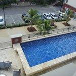 Pool view from 4th floor