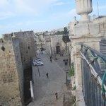 Vista dalla camera, Porta Jaffa