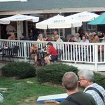 Dining on the Bayou deck is a great way to enjoy the mild Banner Elk summers