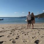An excursion by boat to isolated Playa Blanca