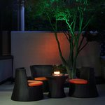 Relax in our outside seating area