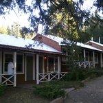 Motel units exterior.