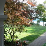 View to Niagara River from Museum Entrance