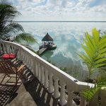 from the terrace of the palapa