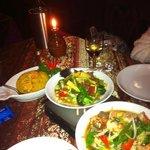 Stunning!!! Thai Prawns Mixed Veg, Pineapple Fried Rice, Spiced Thai mixed Veg