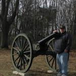 Me and a battlefield cannon