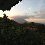 Looking towards the Concepcion volcano