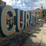 New Curacao Sign Downtown