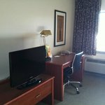 T.V. in room and desk
