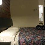 chambre un lit 54 pouces