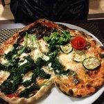 Veggie Pizza (Spinach, Zucchini, etc.)