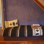 Relaxing corner in bedroom - African Cottage