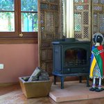 African fireplace!