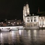 Zurich Old town at night