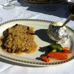 Fillet Steak with Pepper Sauce