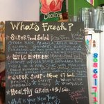 What's Fresh? Daily Specials...yummilicious and oh so good for yous!