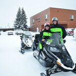 Snowmobile trip setup through 3 Bear Lodge!