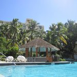 pool and cabana bar