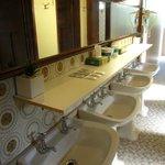 Ladies bathroom downstairs