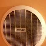 Mould and dust clogs the bathroom fan!