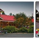 Enchanting family style lodge.