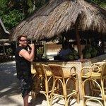 Entalula Island beach bar